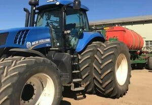 New Holland T8 Economy Tuning