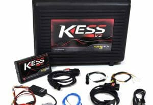 KessV2 chip tuning tool with all the standard cables